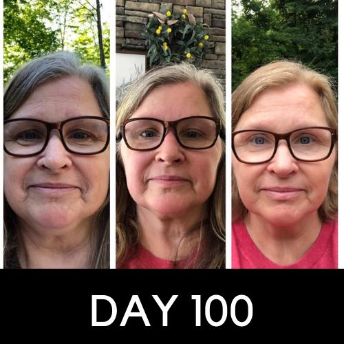 Caron T - day 100