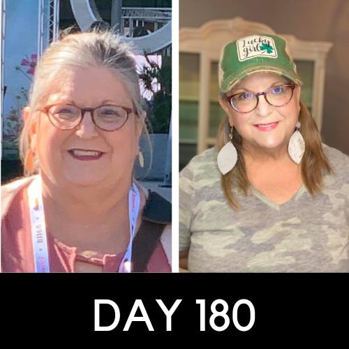 Patricia S - day 180