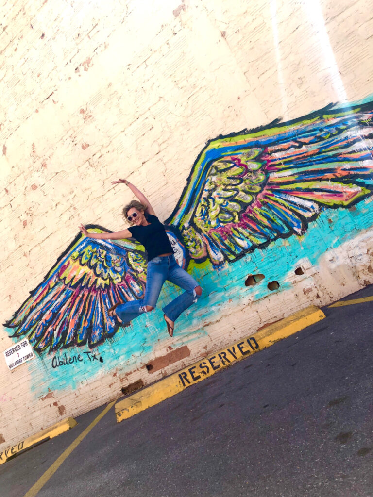 Tracey Bellion Colored Wings AIP