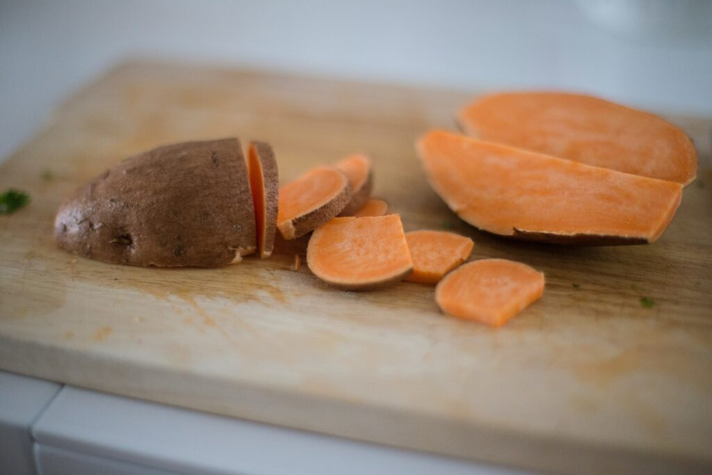 Eat Sweet Potatoes to Curb Sugar Cravings with Tracey Bellion of Fit Fifty and Fearless