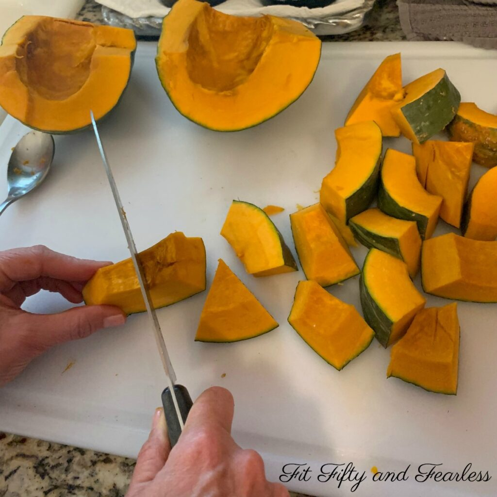 Kabocha Squash by Tracey Bellion of FitFiftyAndFearless.com
