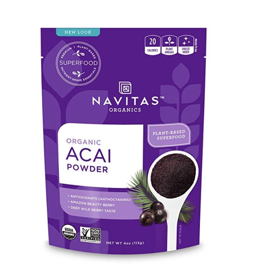 Acai powder for acai bowls